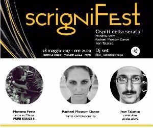 Una festa per raccontare Scrigni, per promuovere workshop e spettacoli dell'edizione 2017