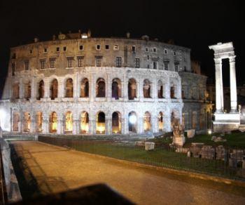 Locandina: Notti romane al Teatro Marcello 2018
