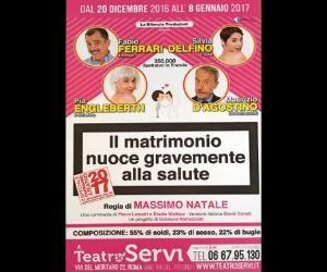 Locandina evento: Il matrimonio nuoce gravemente alla salute