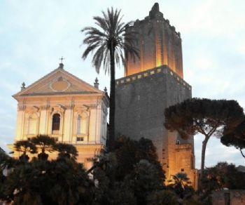 """Locandina: """"Roma turrita"""". Alla scoperta delle torri medievali della città"""