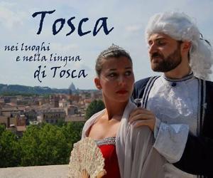 Locandina: Tosca, nei luoghi e nella lingua di Tosca