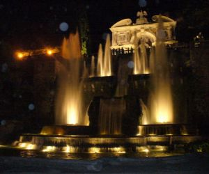 Locandina: Notturno a Villa d'Este