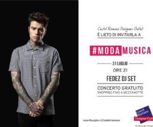 Locandina: Fedez DJ Set a Castel Romano Designer Outlet