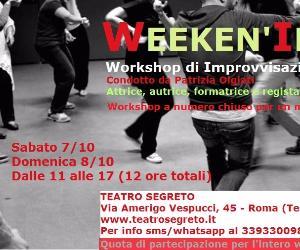 Attività - Week-end di Improvvisazione Teatrale