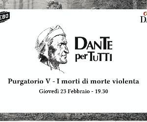 Locandina: Dante per tutti. Lectura Dantis