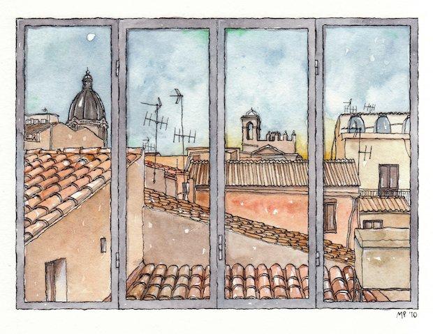 Finestre sul mondo tricromia artgallery gallerie a roma - Finestre a roma ...