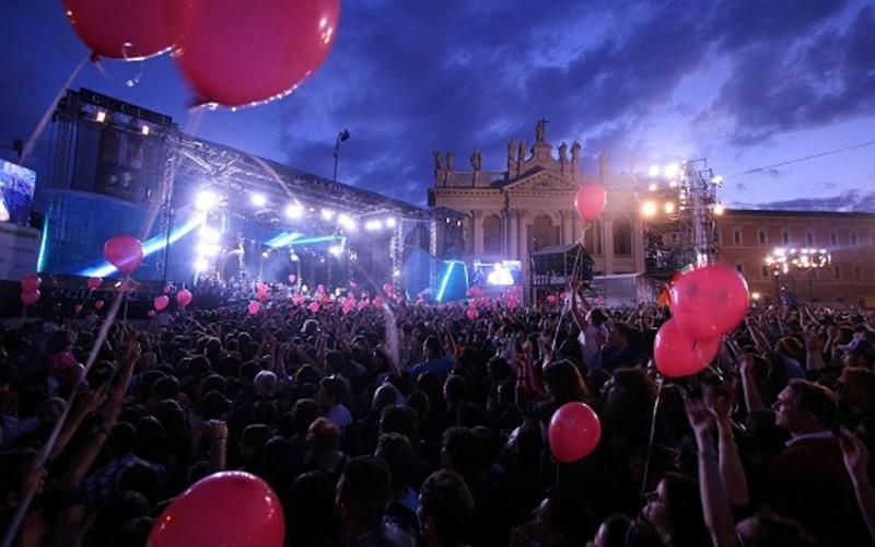 Concerto del primo maggio 2015 in citt concerti a roma for 25esimo anniversario