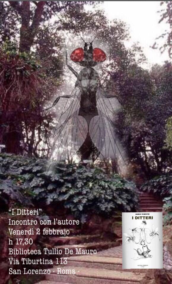 Il romanzo I ditteri di Marco Visentin a San Lorenzo