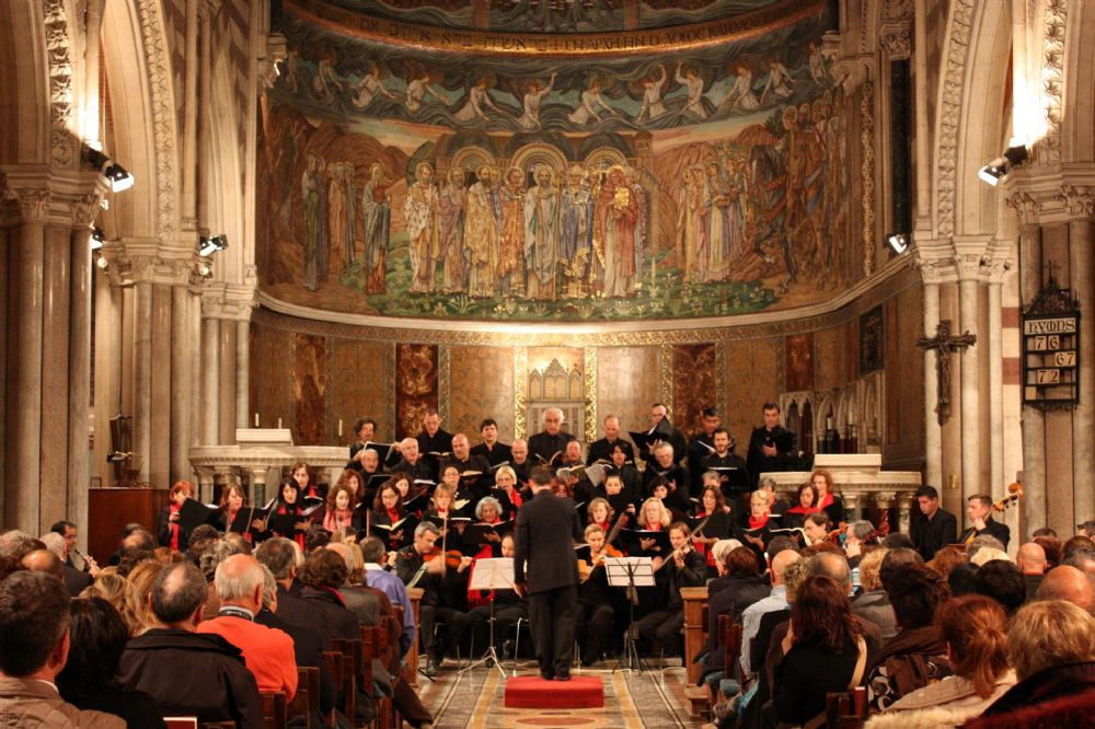 Coro dell 39 aventino a st paul chiesa di san paolo dentro for Dentro le mura