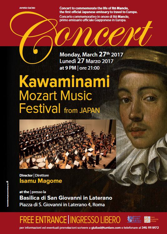 Risultati immagini per Kawaminami Mozart Music Festival