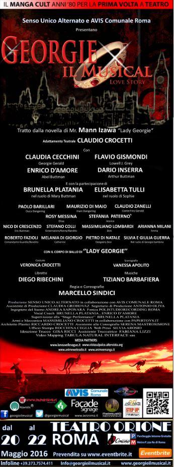 Georgie il musical nuovo teatro orione spettacoli a roma