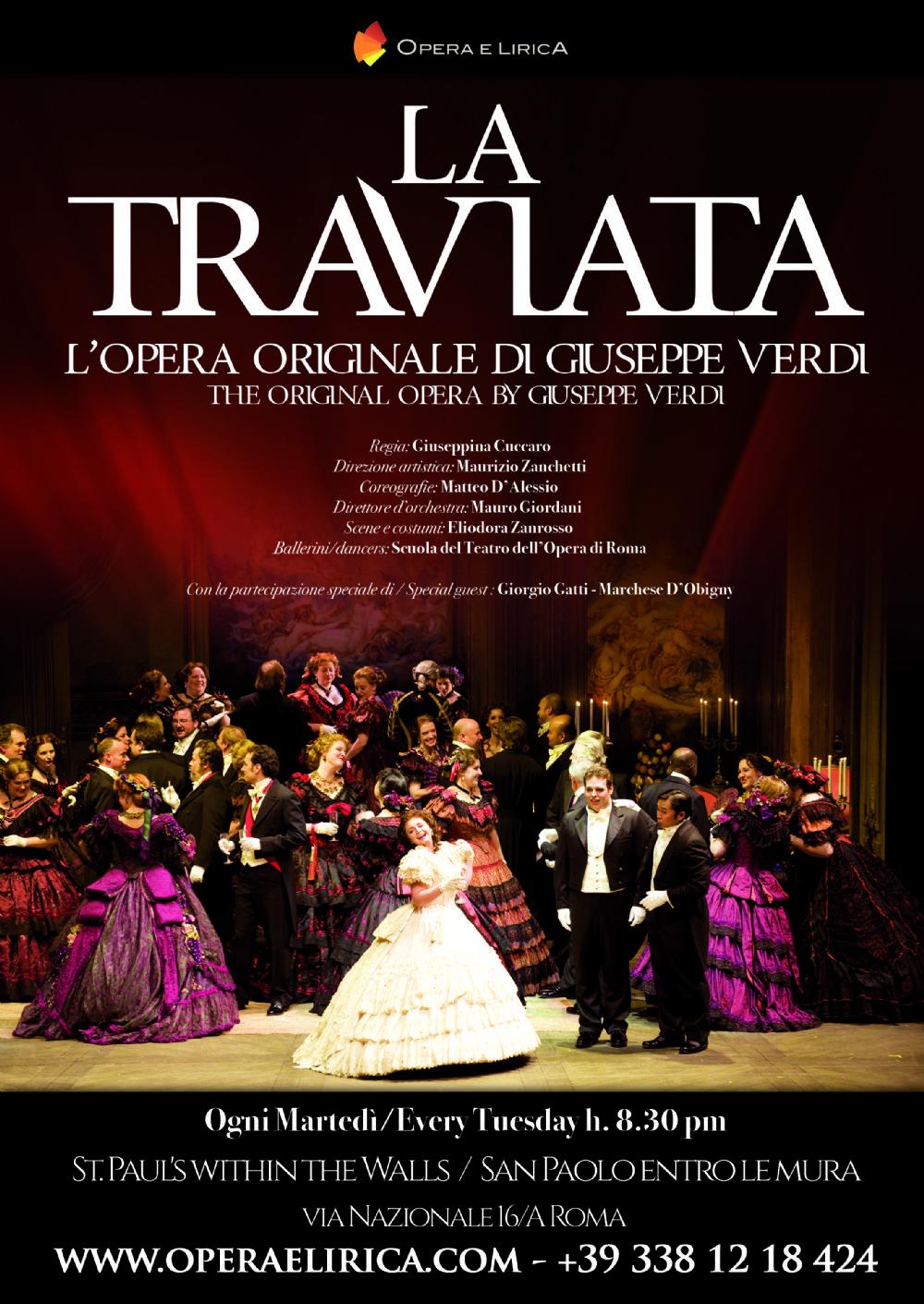 La traviata chiesa di san paolo dentro le mura concerti for Di giuseppe arredamenti roma