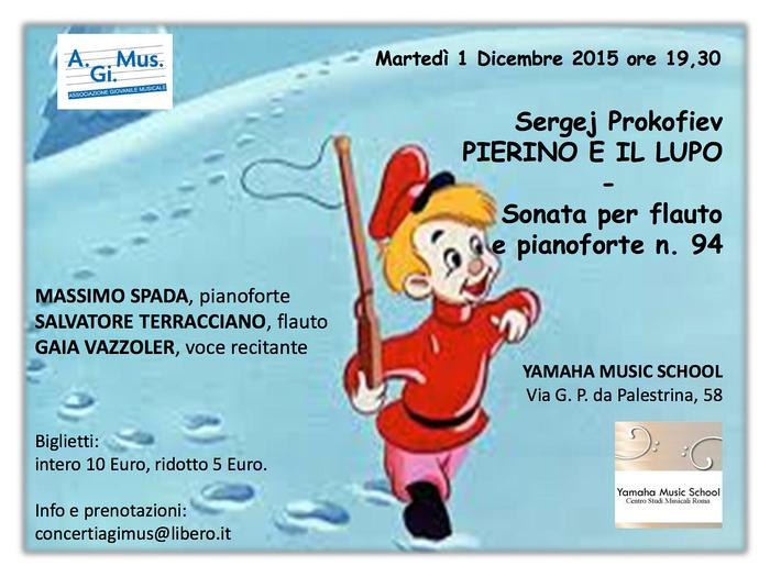 Mappa evento pierino e il lupo di sergej prokofiev yamaha for Yamaha music school locations