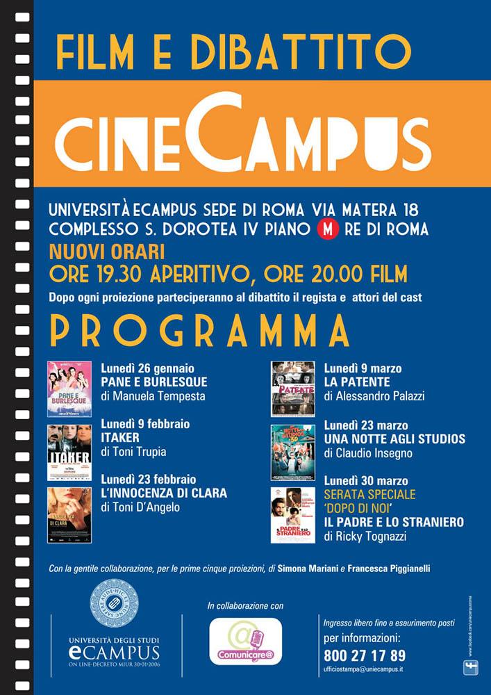 """Riprende il CineCampus con """"Pane e Burlesque"""" di Manuela ..."""