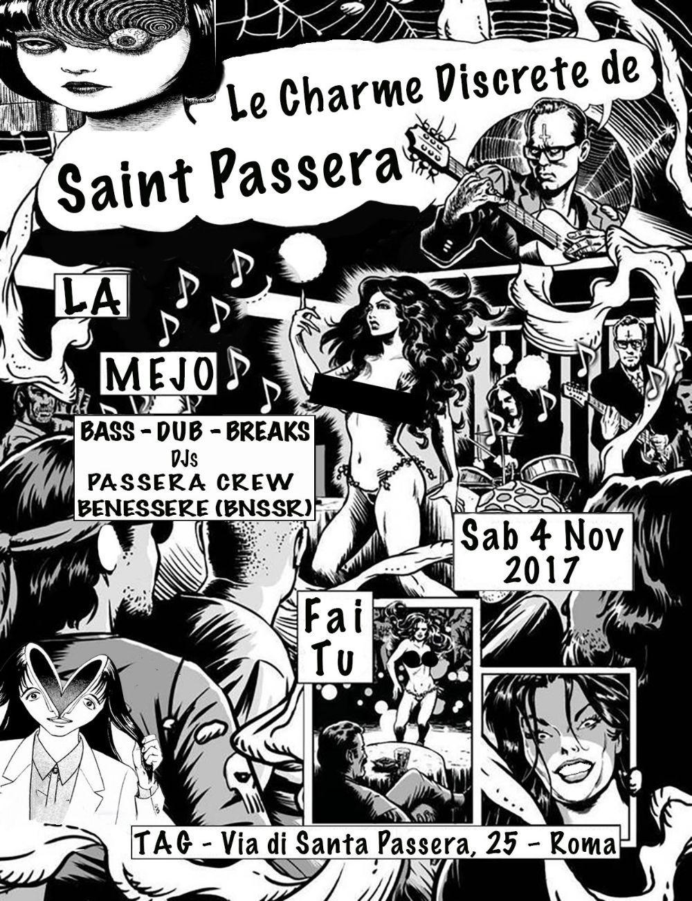 LE CHARME DISCRETE DE SAINT PASSERA