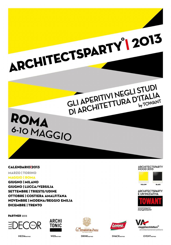 La settimana dedicata a dieci studi di architettura della for Studi di architettura roma