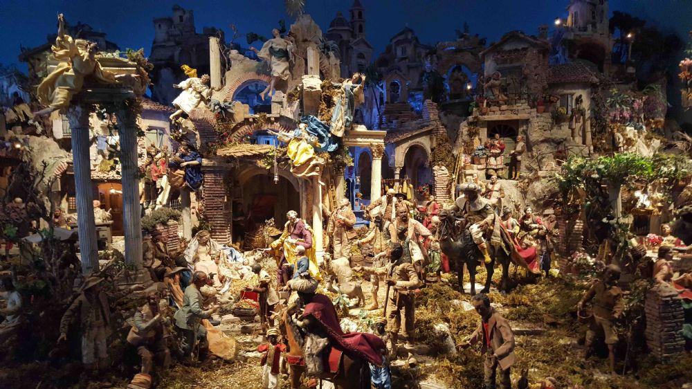 Il presepe religiosit e tradizione popolare palazzo del for Tradizioni di roma