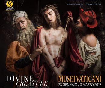 10 lavori fotografici di Leonardo Baldini che riproduce le opere di arte sacra con modelli portatori di disabilità