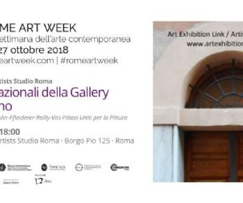 Gallerie - Artisti internazionali in occasione di Rome Art Week 2018