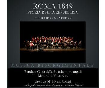 Concerti - Roma 1849. Storia di una Repubblica