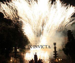 Il tradizionale spettacolo di fuochi d'artificio che celebra i Patroni della Capitale