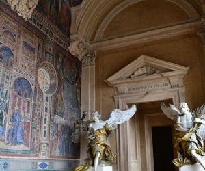 Sotterranei, Loggia delle Benedizioni, Sala dei Papi e Scala del Bernini