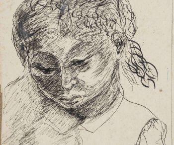 Una selezione di circa 50 carte di Antonietta Raphaël Mafai