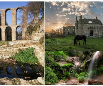 """Visite guidate - La città """"fantasma"""" di Monterano la riserva naturale e la solfatara"""