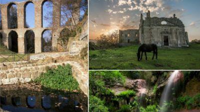 """Visite guidate - La città """"fantasma"""" di Monterano, la riserva naturale e la solfatara"""