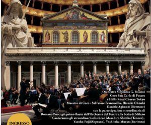 Concerti: Requiem di Mozart per il Giappone dal Vaticano