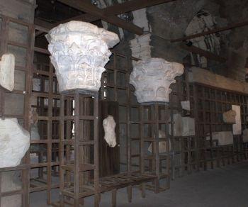 Locandina: I tesori del Colosseo. Esposizione permanente