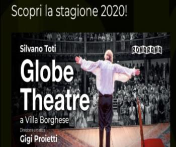 Spettacoli - Silvano Toti Globe Theatre 2020