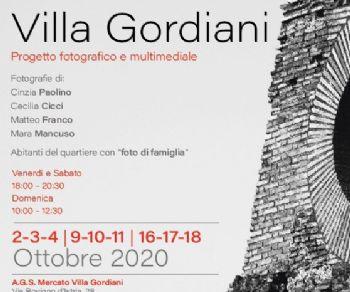 Mostre - ViviAmo Villa Gordiani
