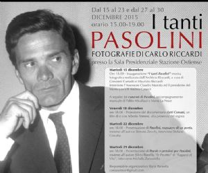 Alla stazione Ostiense ventisei scatti che raccontano gli aspetti più intimi di Pier Paolo Pasolini