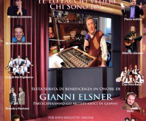 Sesta serata di beneficenza in onore di Gianni Elsner