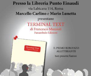 Alla Libreria di Via Labicana la presentazione del primo romanzo humour allitterante