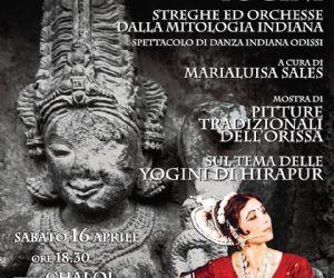 Spettacolo di danza classica indiana con Marialuisa Sales