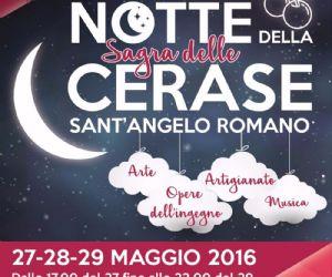 A Sant'Angelo Romano la 54^ edizione della Sagra delle Cerase