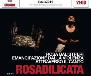 La storia narrata e cantata di Rosa Balistreri