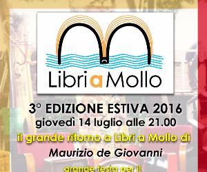 Il grande ritorno di Maurizio de Giovanni a Libri a Mollo estate 2016