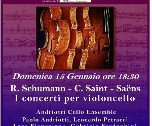 Concerti: R. Schumann - C. Saint-Saens: Concerti per violoncello