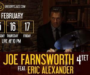 Concerti: Joe Farnsworth 4tet feat. Eric Alexander