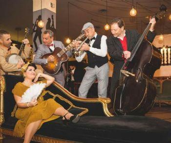 Concerti: Swing Swing Swing: a seguire Sticky Bones in concerto