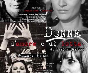 Spettacoli: Donne d'amore e di lotta. 4 voci per un assolo