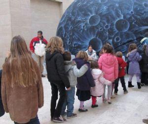 Programma del Planetario di Aprile