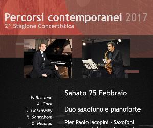 Concerti: Duo saxofono - pianoforte
