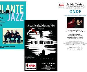 Spettacoli: Prosa e musica jazz al Teatro Ar.ma