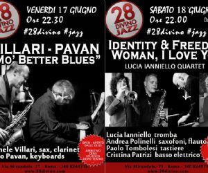 Week End Blues, Woman & Jazz al 28Divino