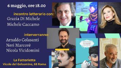 Libri - Incontro letterario con Grazia Di Michele e Michele Caccamo