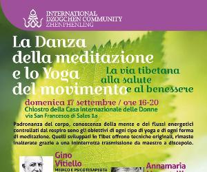 Altri eventi: La danza della meditazione e lo yoga del movimento